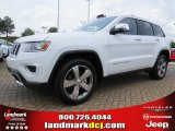 2014 Bright White Jeep Grand Cherokee Limited #93983632