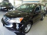 2011 Crystal Black Pearl Honda CR-V LX 4WD #93983867