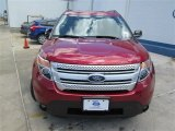 2014 Ruby Red Ford Explorer XLT #93983473