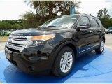 2014 Tuxedo Black Ford Explorer XLT #93983534