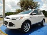2014 White Platinum Ford Escape Titanium 1.6L EcoBoost #93983533