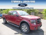 2014 Ruby Red Ford F150 FX4 SuperCrew 4x4 #93983606