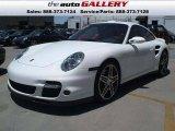 2007 Carrara White Porsche 911 Turbo Coupe #924635
