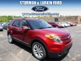 2014 Ruby Red Ford Explorer Limited 4WD #93983604
