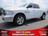 2014 Bright White Ram 1500 Big Horn Crew Cab #93983665