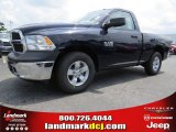 2014 True Blue Pearl Coat Ram 1500 Tradesman Regular Cab #93983664