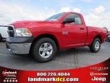 2014 Flame Red Ram 1500 Tradesman Regular Cab #93983660