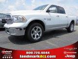 2014 Bright White Ram 1500 Laramie Crew Cab #93983658