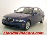 2004 Mystic Blue Metallic BMW 3 Series 325i Coupe #9388551