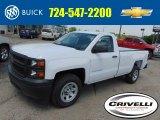 2014 Summit White Chevrolet Silverado 1500 WT Regular Cab #93983832