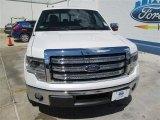 2014 White Platinum Ford F150 Lariat SuperCrew #93983478