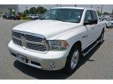 2014 Bright White Ram 1500 Big Horn Crew Cab 4x4 #93983896