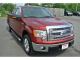 2013 Ruby Red Metallic Ford F150 XLT SuperCab #93983887