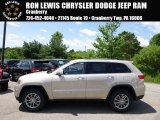 2014 Cashmere Pearl Jeep Grand Cherokee Limited 4x4 #93983566