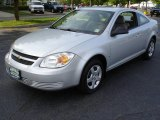 2007 Ultra Silver Metallic Chevrolet Cobalt LS Coupe #9381854