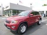 2014 Deep Cherry Red Crystal Pearl Jeep Grand Cherokee Laredo 4x4 #93983809