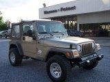 2006 Light Khaki Metallic Jeep Wrangler SE 4x4 #9388601