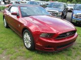 2014 Ruby Red Ford Mustang V6 Premium Convertible #94021597