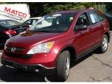 2007 Tango Red Pearl Honda CR-V LX 4WD #9387588