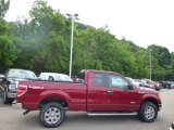 2014 Ruby Red Ford F150 XLT SuperCab 4x4 #94054033