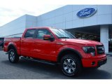 2014 Race Red Ford F150 FX4 SuperCrew 4x4 #94054096