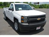 2014 Summit White Chevrolet Silverado 1500 WT Regular Cab #94054294