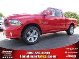 2014 Flame Red Ram 1500 Sport Quad Cab #94054080