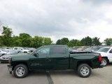2014 Rainforest Green Metallic Chevrolet Silverado 1500 LT Crew Cab 4x4 #94054422