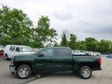2014 Rainforest Green Metallic Chevrolet Silverado 1500 LT Crew Cab 4x4 #94054421