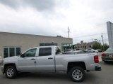 2014 Silver Ice Metallic Chevrolet Silverado 1500 LT Crew Cab 4x4 #94054420