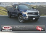 2014 Blue Ribbon Metallic Toyota Tundra SR5 TRD Double Cab 4x4 #94089988