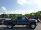 2015 Blue Jeans Ford F250 Super Duty XLT Super Cab 4x4 #94090082