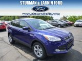 2014 Deep Impact Blue Ford Escape SE 1.6L EcoBoost 4WD #94090259