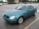 1998 Mercedes-Benz SLK Calypso Green Metallic