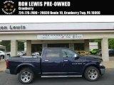 2012 True Blue Pearl Dodge Ram 1500 Laramie Crew Cab 4x4 #94090249