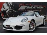 2012 Carrara White Porsche 911 Carrera S Cabriolet #94090504