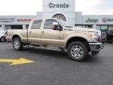 2012 Pale Adobe Metallic Ford F250 Super Duty Lariat Crew Cab 4x4 #94090368