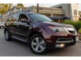 2011 Dark Cherry Pearl Acura MDX Technology #94133554