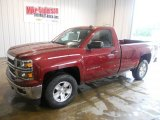 2014 Deep Ruby Metallic Chevrolet Silverado 1500 LT Regular Cab #94133996