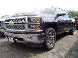 2014 Tungsten Metallic Chevrolet Silverado 1500 LTZ Crew Cab 4x4 #94133383