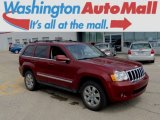 2008 Red Rock Crystal Pearl Jeep Grand Cherokee Limited 4x4 #94133549