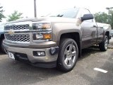 2014 Brownstone Metallic Chevrolet Silverado 1500 LT Regular Cab #94133373