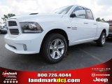 2014 Bright White Ram 1500 Sport Quad Cab 4x4 #94133605