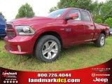 2014 Deep Cherry Red Crystal Pearl Ram 1500 Sport Quad Cab #94133603