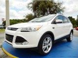2014 White Platinum Ford Escape Titanium 2.0L EcoBoost #94133515
