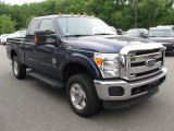 2012 Dark Blue Pearl Metallic Ford F250 Super Duty XLT SuperCab 4x4 #94133960