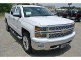 2014 Summit White Chevrolet Silverado 1500 LTZ Crew Cab 4x4 #94133846