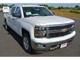 2014 Summit White Chevrolet Silverado 1500 LT Crew Cab #94133842