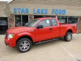 2014 Race Red Ford F150 STX SuperCab 4x4 #94133938
