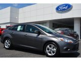 2014 Sterling Gray Ford Focus SE Sedan #94175739